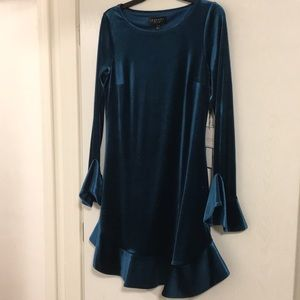 Laundry by Shelli Segal Teal Formal Dress